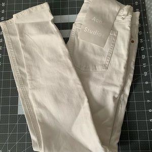 Acne Studios 'Skin 5 Pocket' mid-rise skinny jeans
